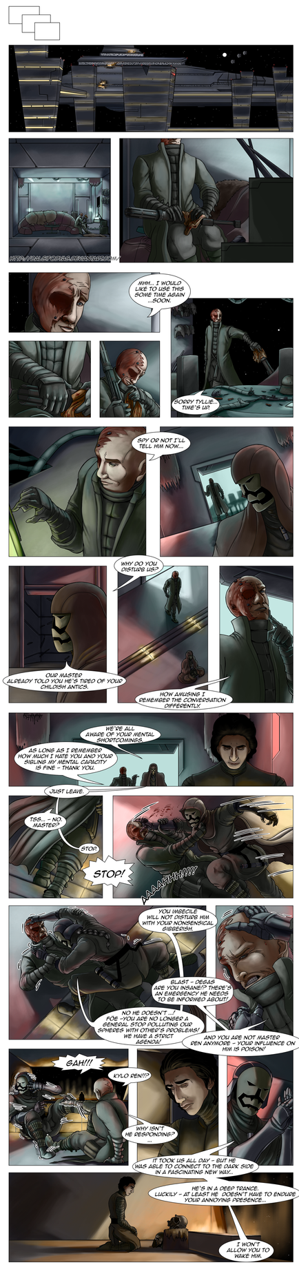 Star Wars - First Order Tales - The Invasion 21 by DalSifoDyas