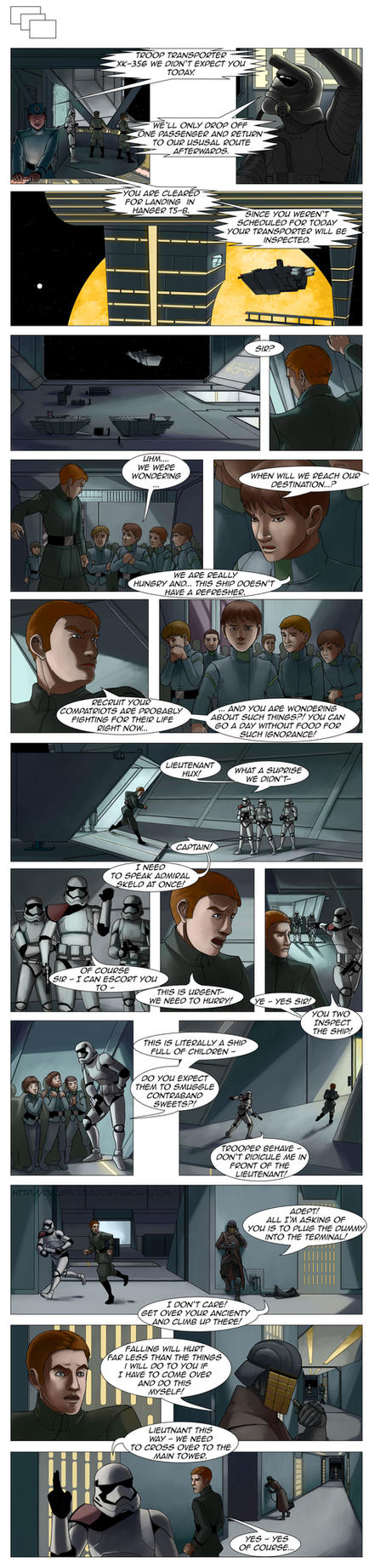 Star Wars - First Order Tales - The Invasion 25 by DalSifoDyas