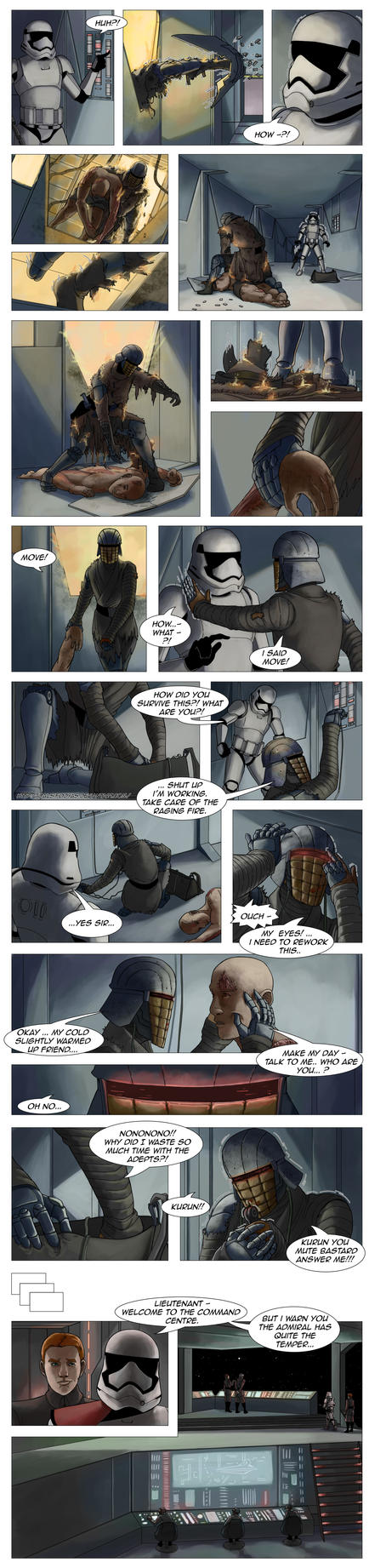 Star Wars - First Order Tales - The Invasion 29 by DalSifoDyas