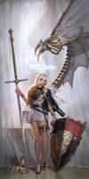 The angel by inshoo1