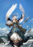 Sky of angel