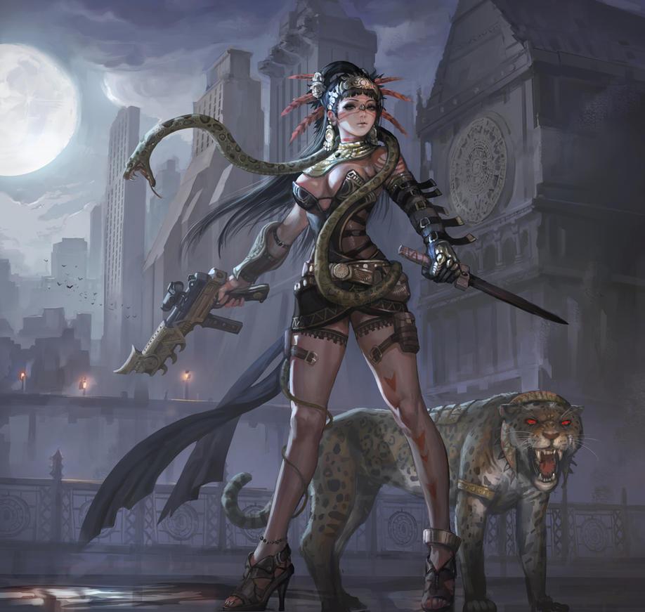 Maya Assassin by inshoo1