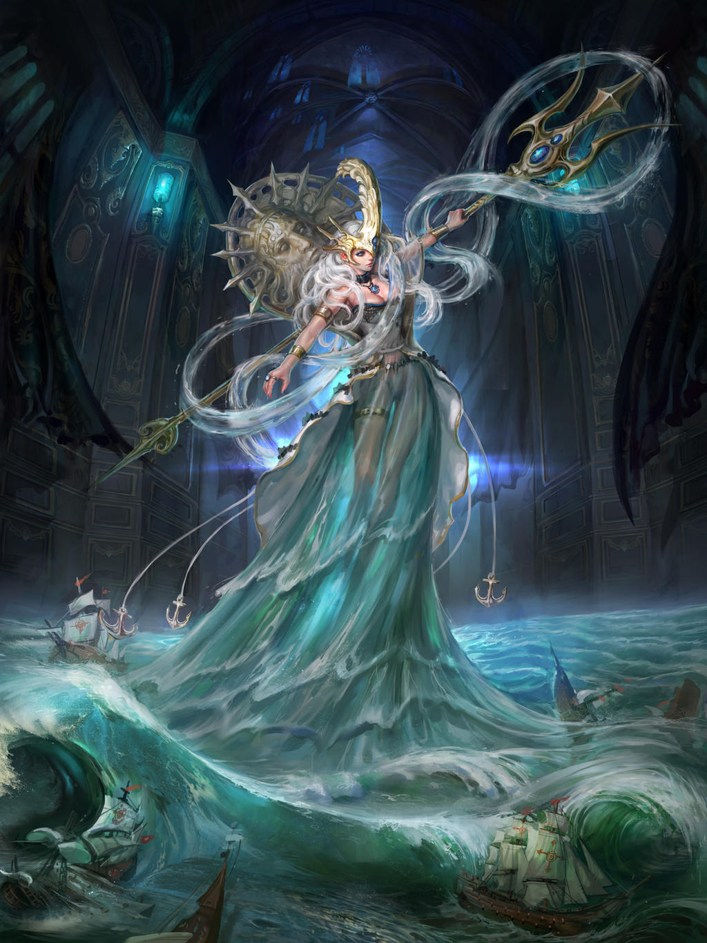 Poseidon By Inshoo1 On Deviantart