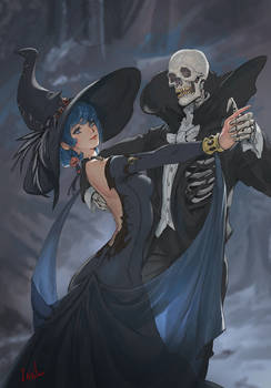 Witch and Skeleton Dance