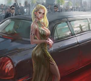Cyberpunk 2077 of Hollywood star?