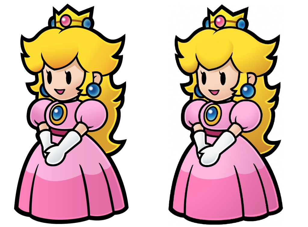 Princess Peach Vector by prohloff