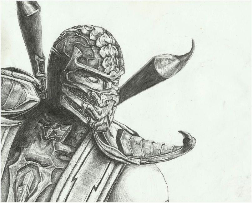 Mortal Kombat 9 Scorpion by LAZI1580 on DeviantArt