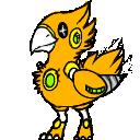Shimeji Crashbird WIP by LordPann