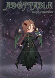  CLOSED  AUCTION ADOPT-magic researcher by Chydila
