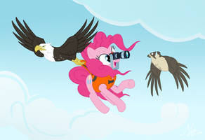 Oh, hi there birdie ! by Valinhya