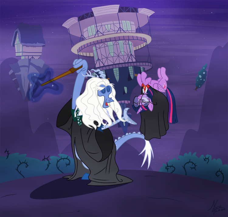discordium_leviosa___100_points_for_ponyville___by_valinhya-d73pve5.jpg