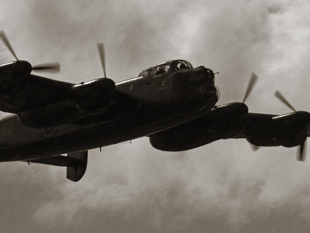 Avro Lancaster 3 by davepphotographer