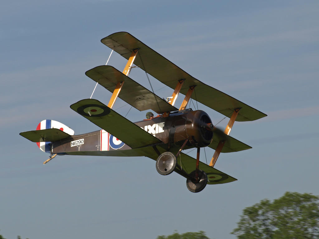 Sopwith Triplane Old Warden by davepphotographer on DeviantArt: davepphotographer.deviantart.com/art/Sopwith-Triplane-Old-Warden...
