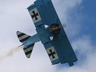 Fokker Triplane by davepphotographer