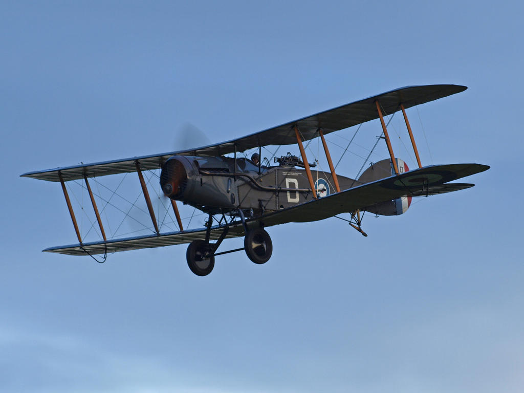 Bristol Fighter Old Warden by davepphotographer