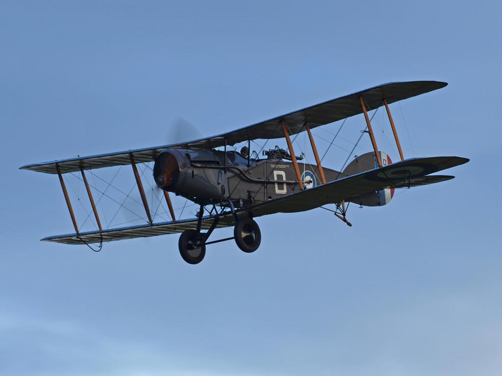 Bristol Fighter Old Warden by davepphotographer
