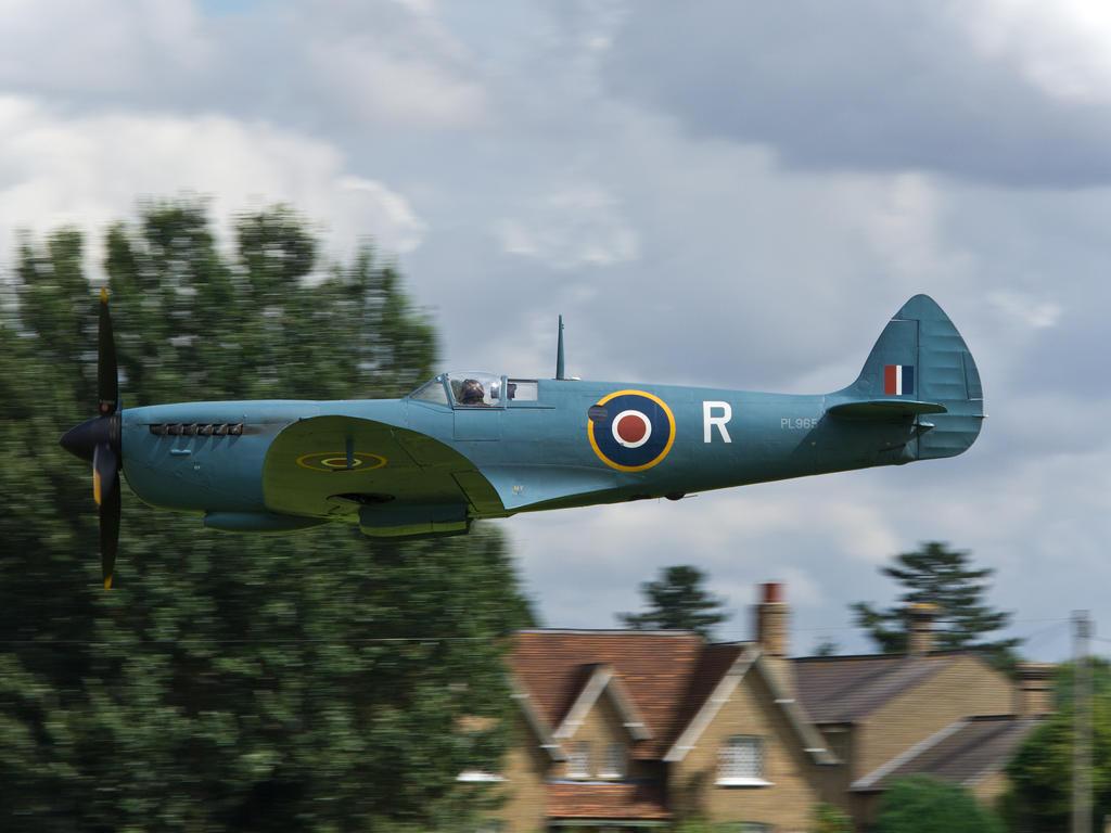 Spitfire fast pass by davepphotographer