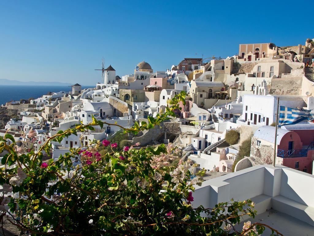 Oia Santorini Greece by davepphotographer