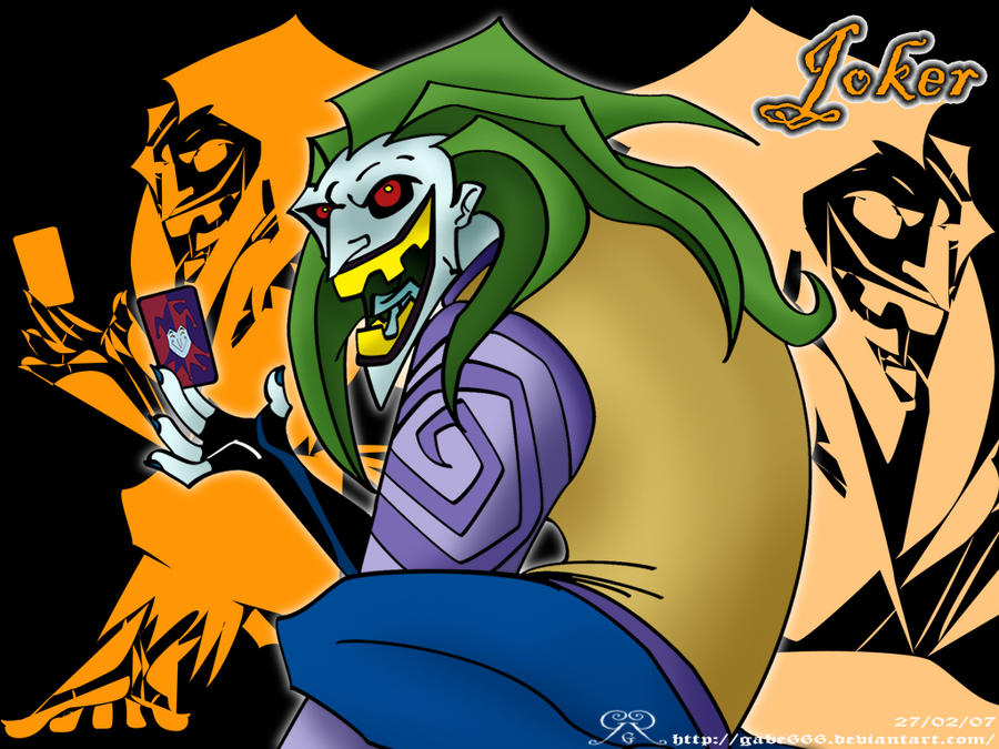 Wallpaper Angels Joker by Gabe666