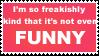 freakishly kind stamp by sixthkidfromthestarz
