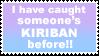 caught kiriban stamp by sixthkidfromthestarz