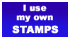 my own stamp by sixthkidfromthestarz
