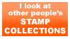 looking into collections stamp