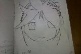 Len LineArt by Rizu-kun1222