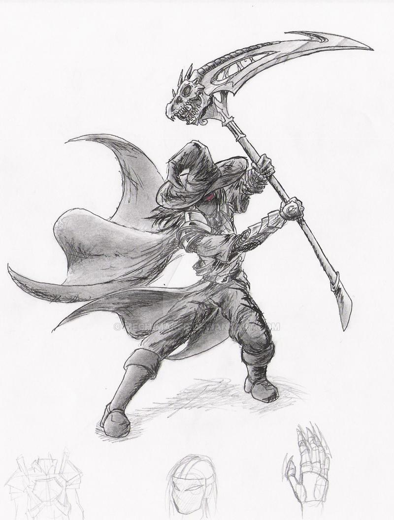 Warlock General concept by Mech-Maker