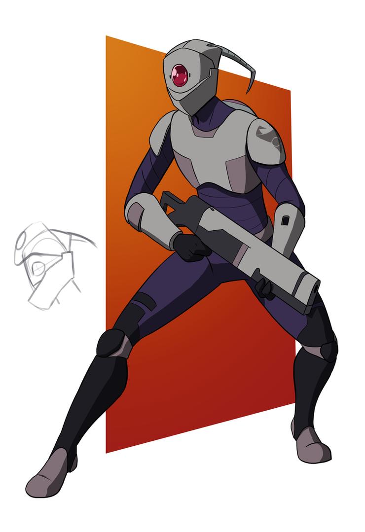 Irk Trooper by Mech-Maker