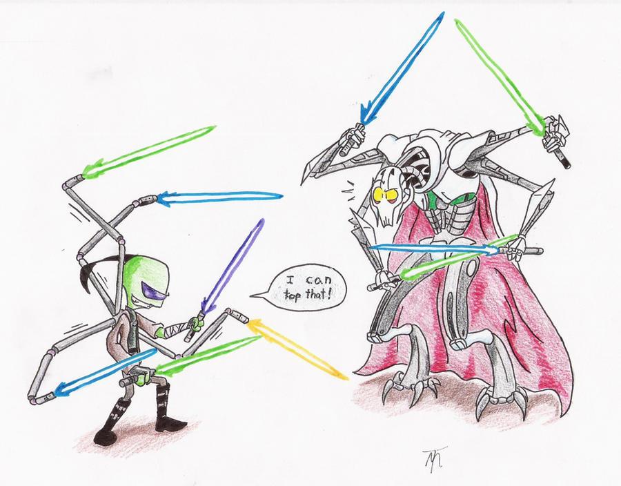 Advantage for an Irken Jedi by Mech-Maker