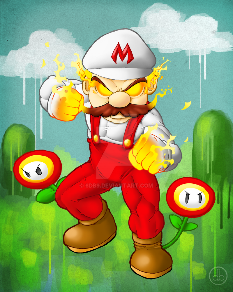 Battle Mario by 6db9