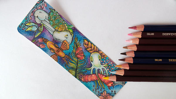 the Colorful World of Animals|Colored pencils by CatherineWhite