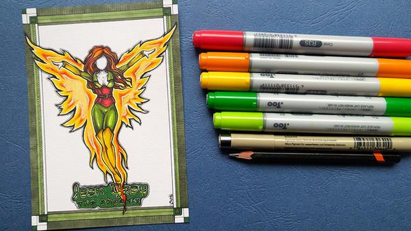 Fanart Monday Phoenix 3 by CatherineWhite