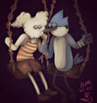 Mordecai and Cloudy Jane