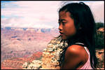 Small girl at Great Canyon
