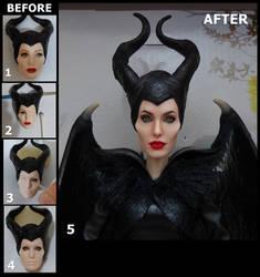 OOAK Angelina Jolie Disney Maleficent
