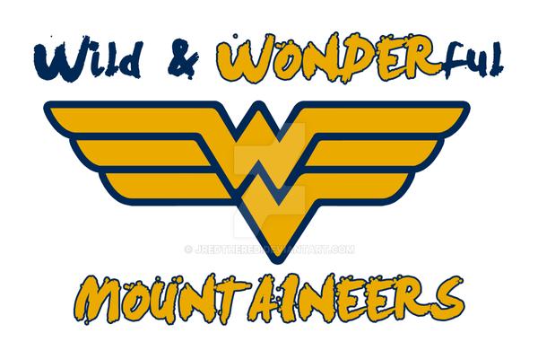 Very best WVU Mountaineers/Wonder Woman Logo Mash Up by jredthered on DeviantArt KB01