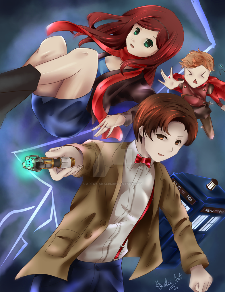 Doctor Who: The Power of Three by artsy-akalei