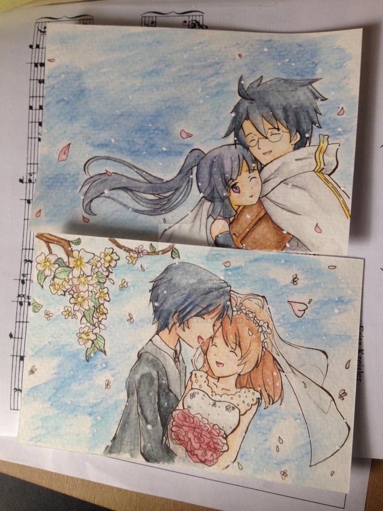 Watercolor Scrap #3 by artsy-akalei