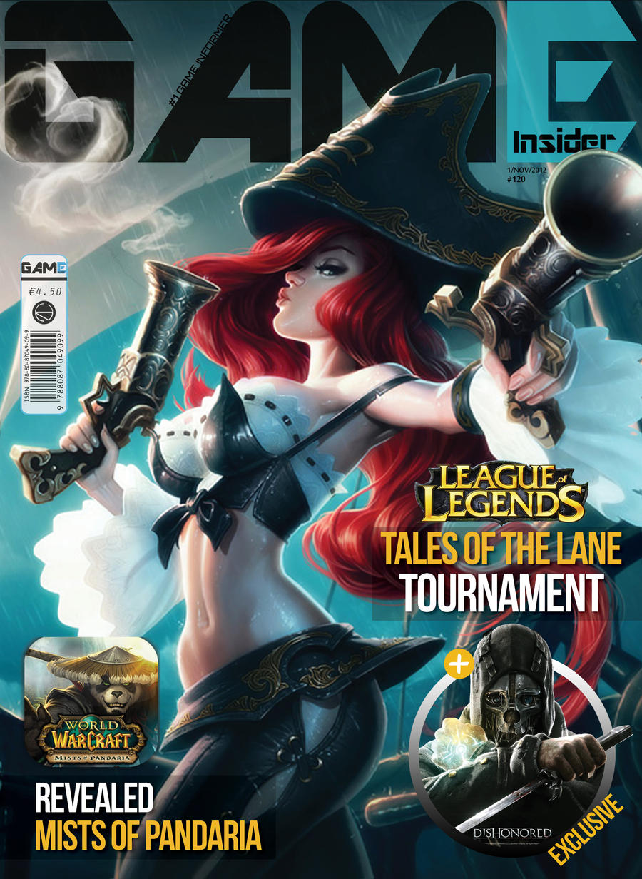 Magazine Cover by Zozzy-evil