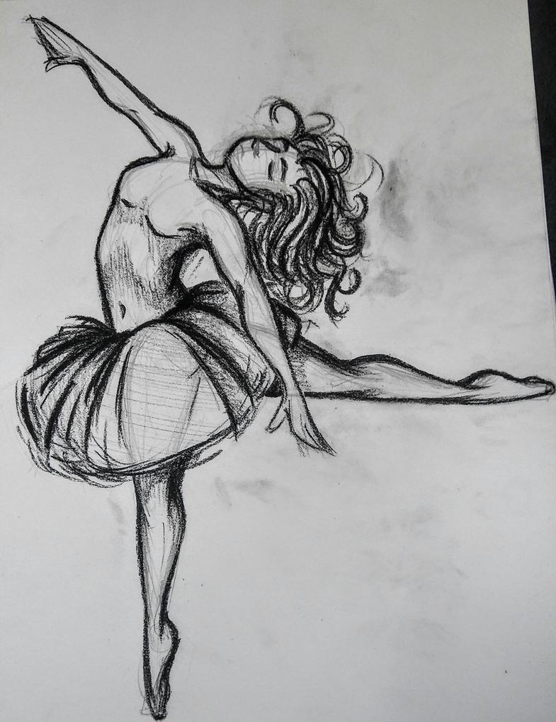 ballet study by kyonehilbert