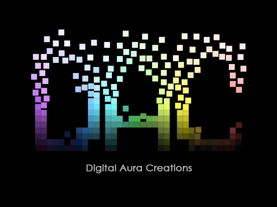 REVAMP: Digital Aura Creations Logo by AneiA11