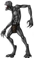 Creepy Enderman by AccursedAsche