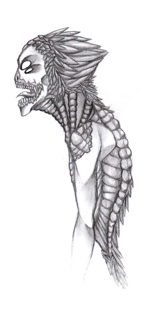 Another one of my Monster drawings by AccursedAsche on ...