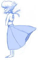 Lapis doodle by AccursedAsche