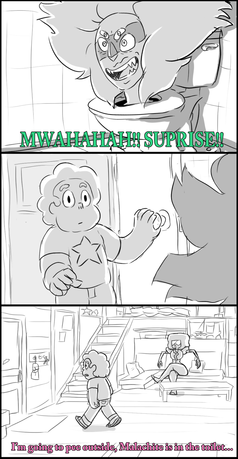Where Malachite was really hiding. by AccursedAsche