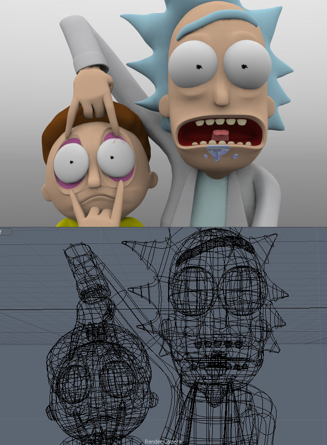 Rick and Morty - Almost done! by juzmental