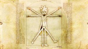 Vitruvian Rick by juzmental