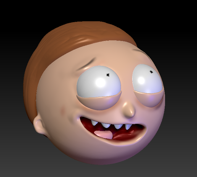 Morty WIP by juzmental
